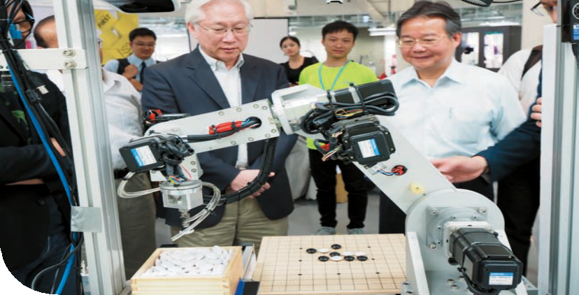 Minister without Portfolio Tsung-Tsong Wu Visits AI Robotics Hub at CTSP