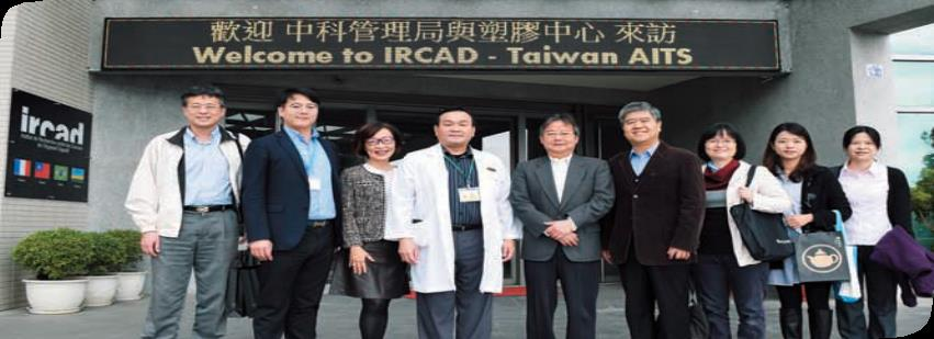 Observation Tour to IRCAD Taiwan for Exploring Future Medical Trend