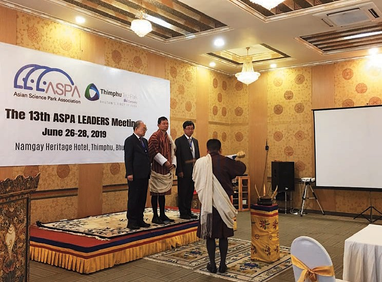 CTSP Delegation Participates in 13th ASPA LEADERS Meeting in Bhutan