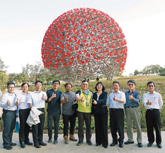 Vice Minister of Science & Technology Yu-Han Tsou Inspected CTSP & AI Robotics Hub