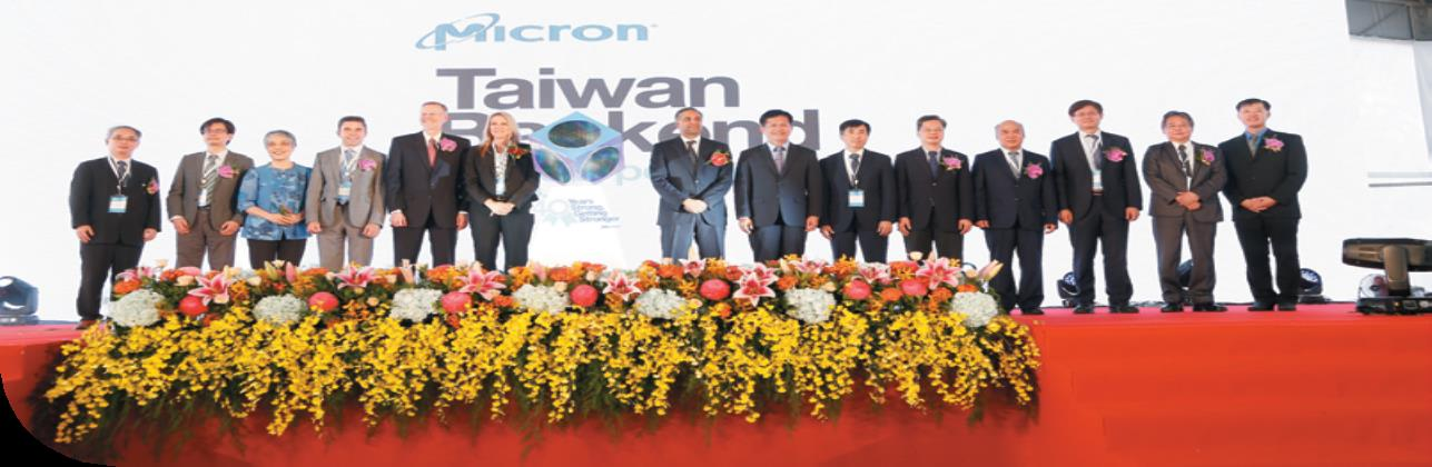 Opening Ceremony of Micron Memory Taiwan Co., Ltd's New Plant in Houli Park